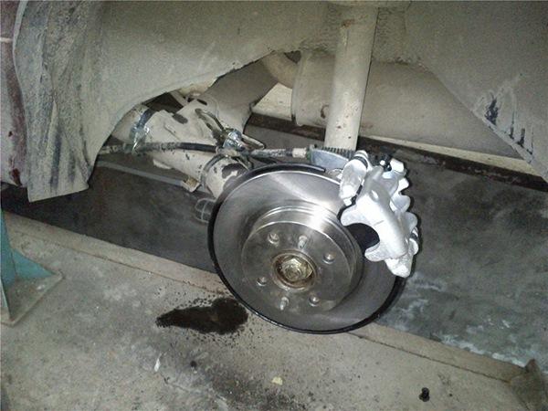 Задние дисковые тормоза на уаз
