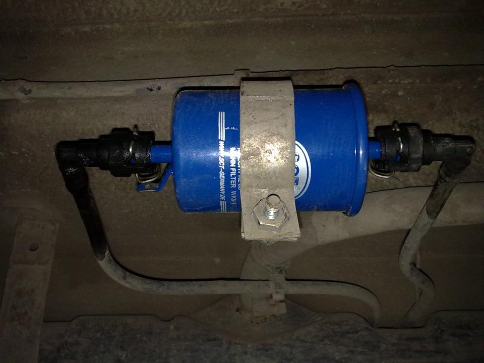 Замена топливного фильтра Лада Гранта. Как выполнить сброс давления в ТС автомобиля?