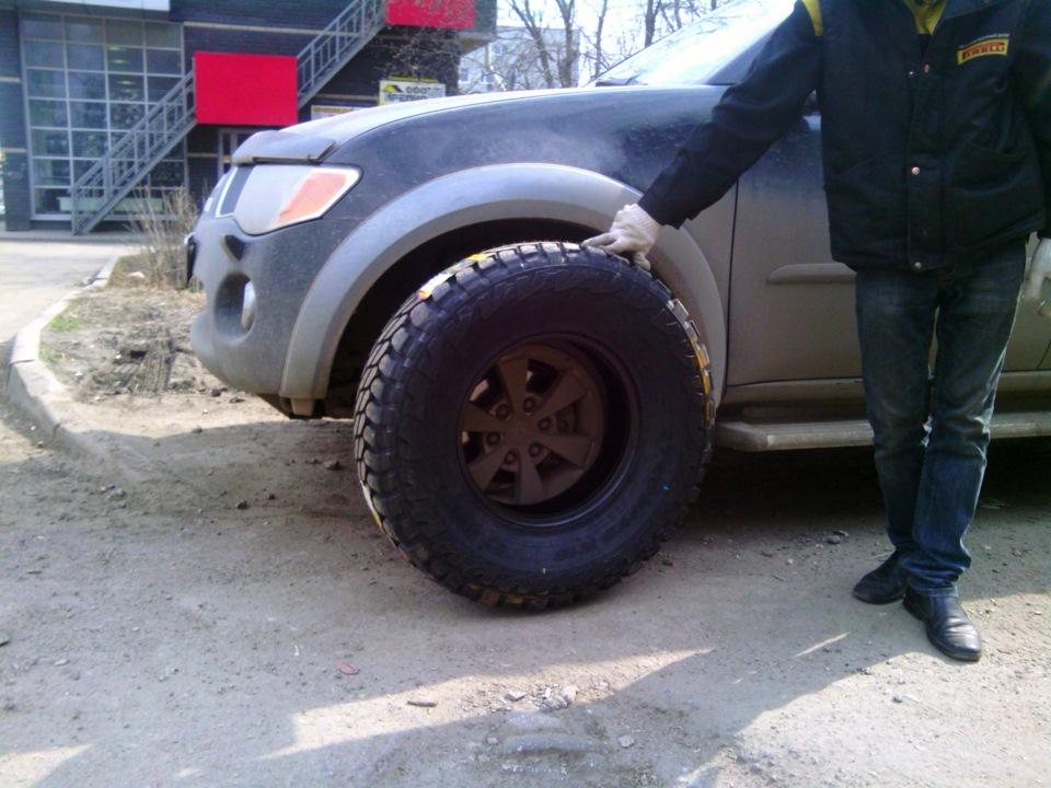 грязевая резина на митсубиси л200 фото
