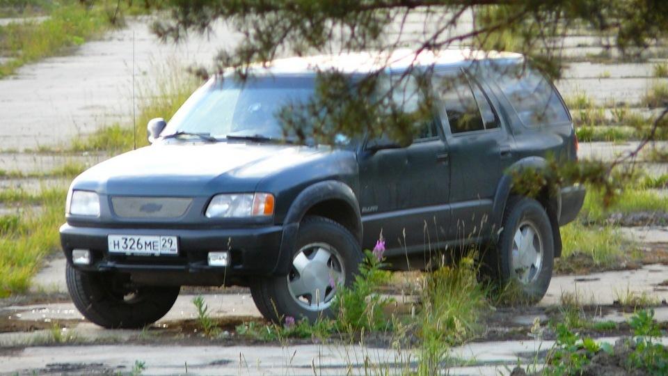 Chevrolet Blazer Американская