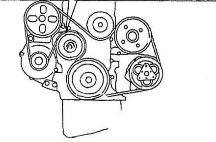 Схема для двигателя 2.0 и с