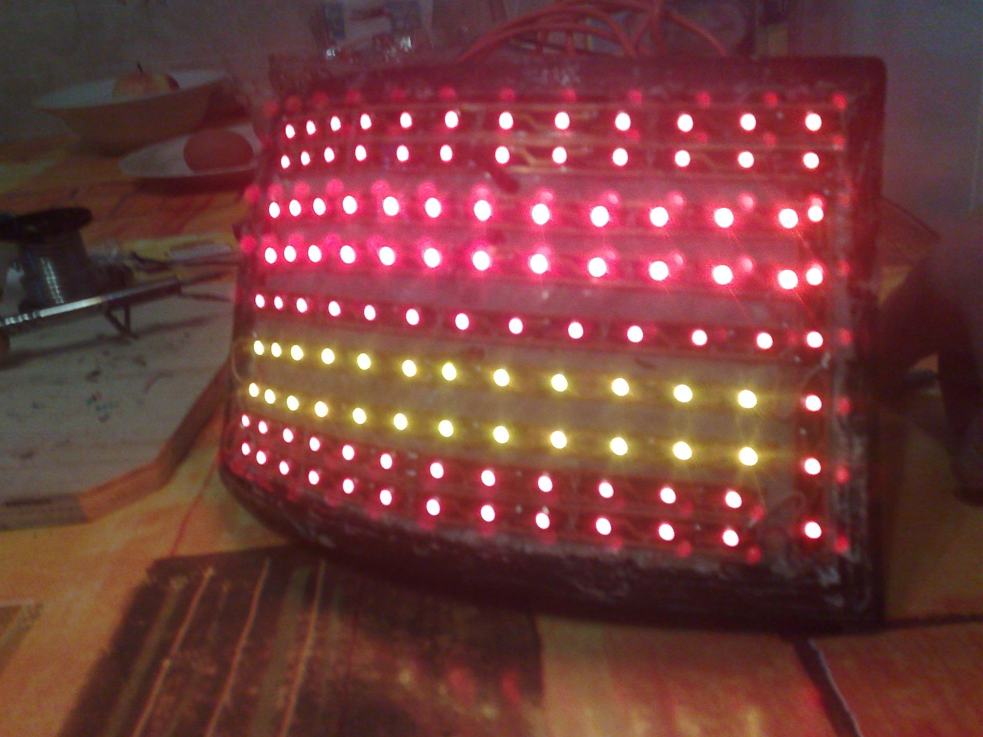 Светодиодные задние фонари своими руками ваз 2110