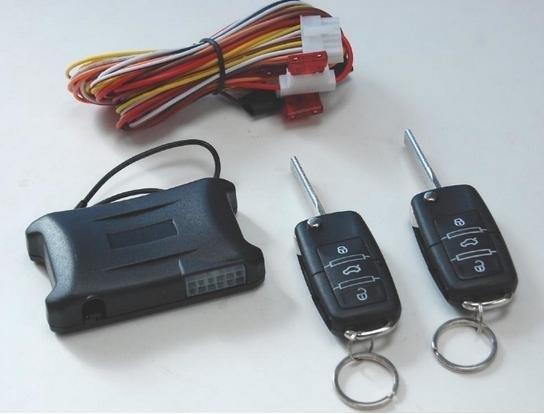 Как сделать ключ центрального замка 838