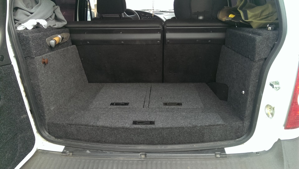 Тюнинг багажника шеви нива
