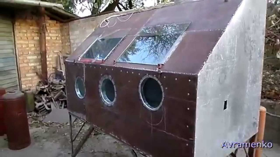 Пескоструйная камера своими руками видео - Sky Wander
