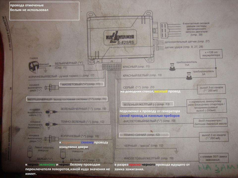 Инструкция По Установке Aligator S-725