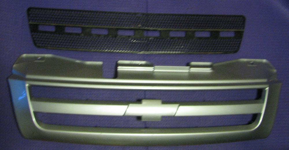 Тюнинг решетки радиатора на ниве шевроле своими руками