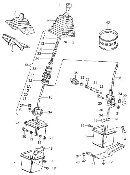 Рис. 1 — Механизм кулиси.