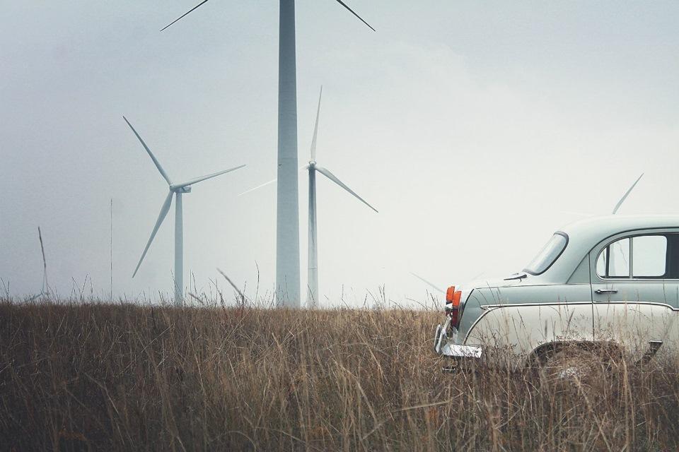 фото ветряков