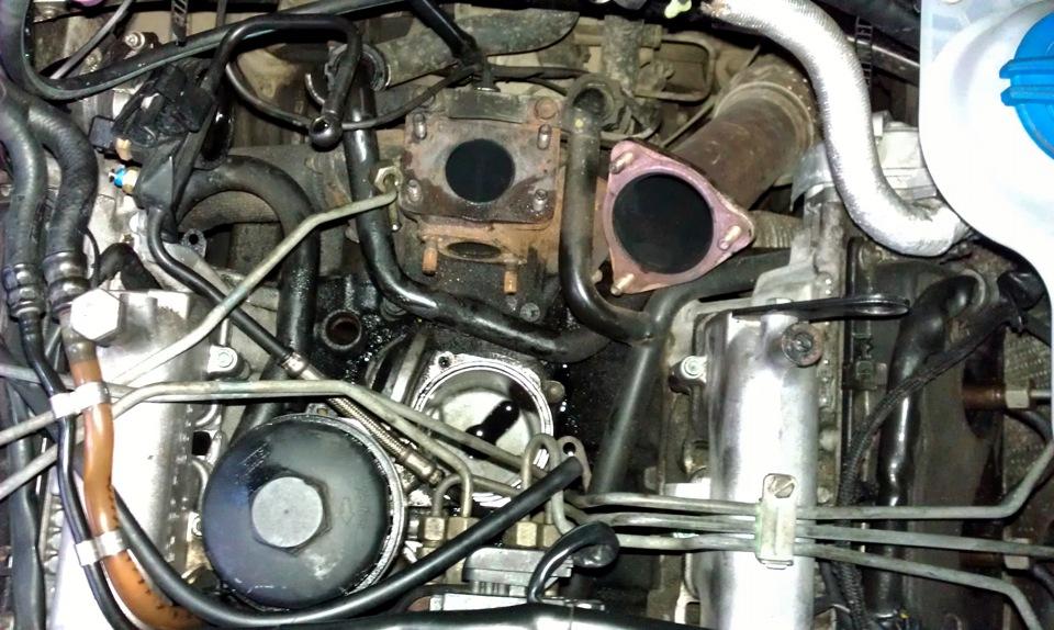 где находиться фильтр картерных газов audi a6 c5