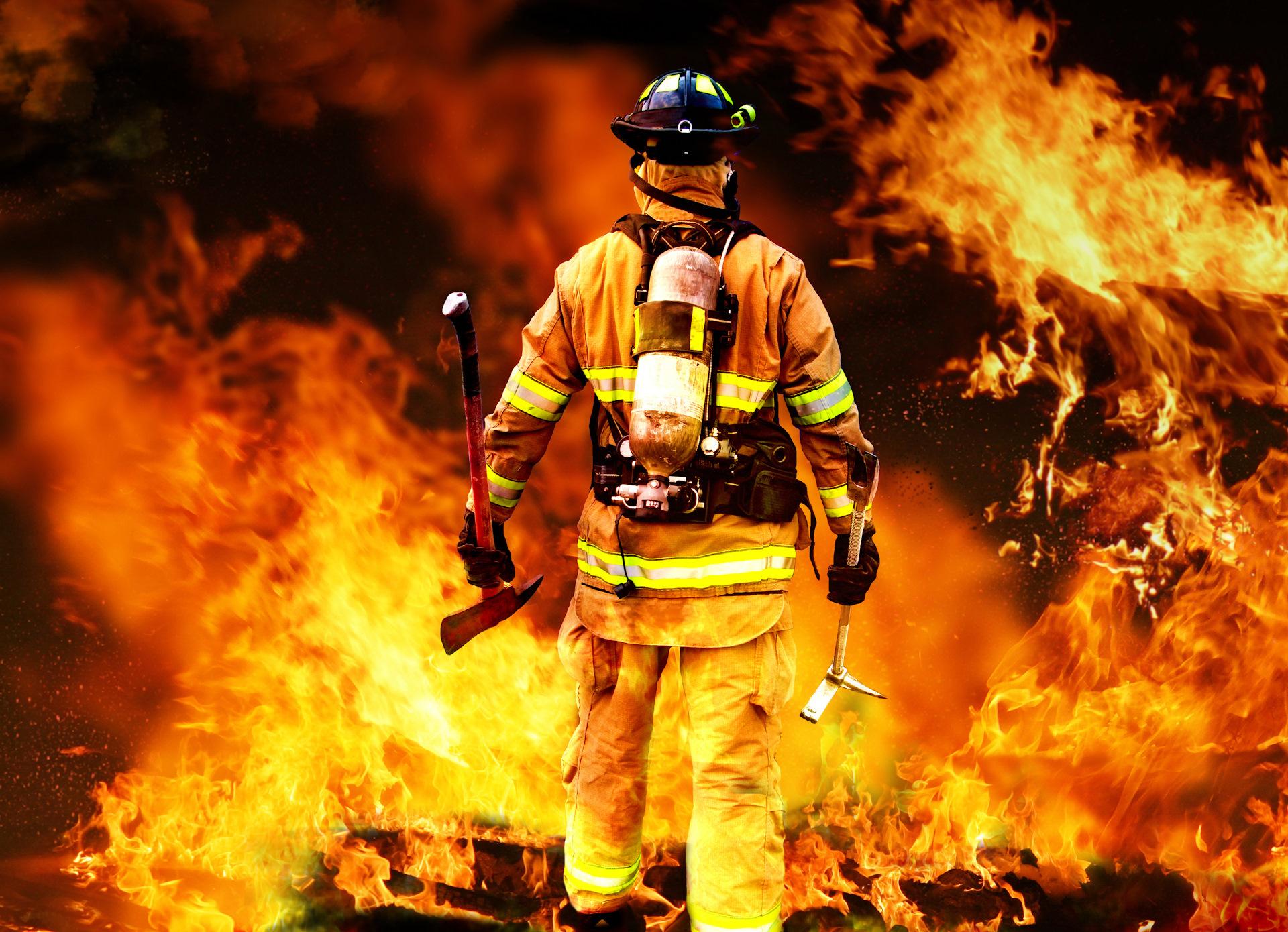 Днем рождения, картинка пожарная охрана