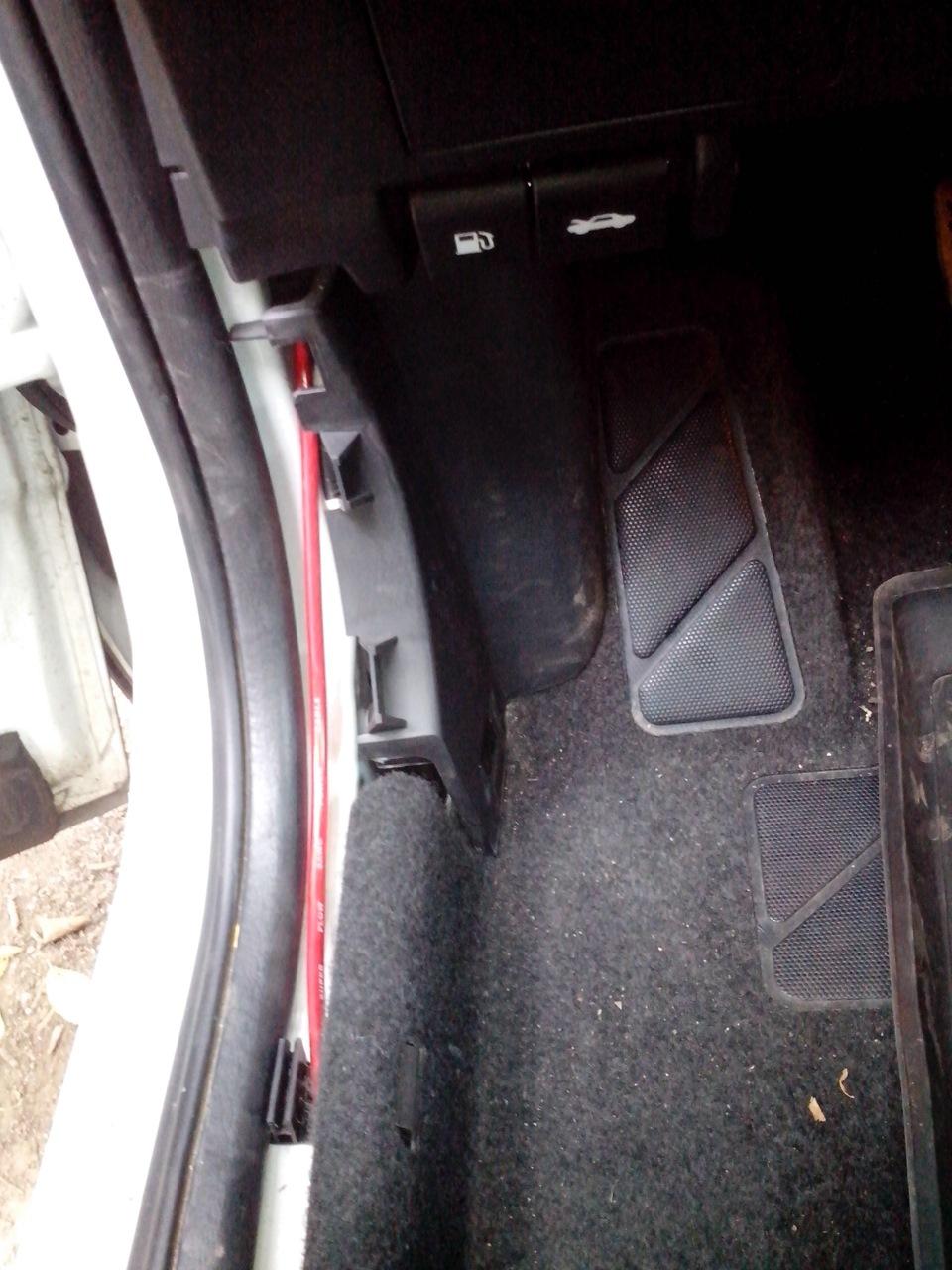 Электропривод багажника ниссан кашкай