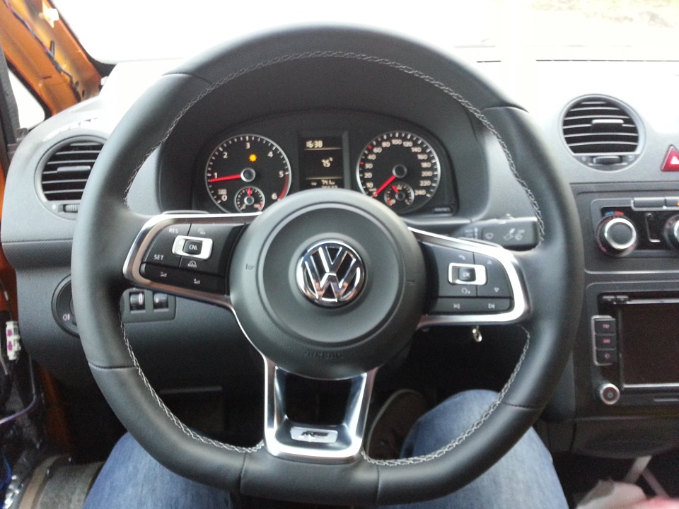 руль на volkswagen golf