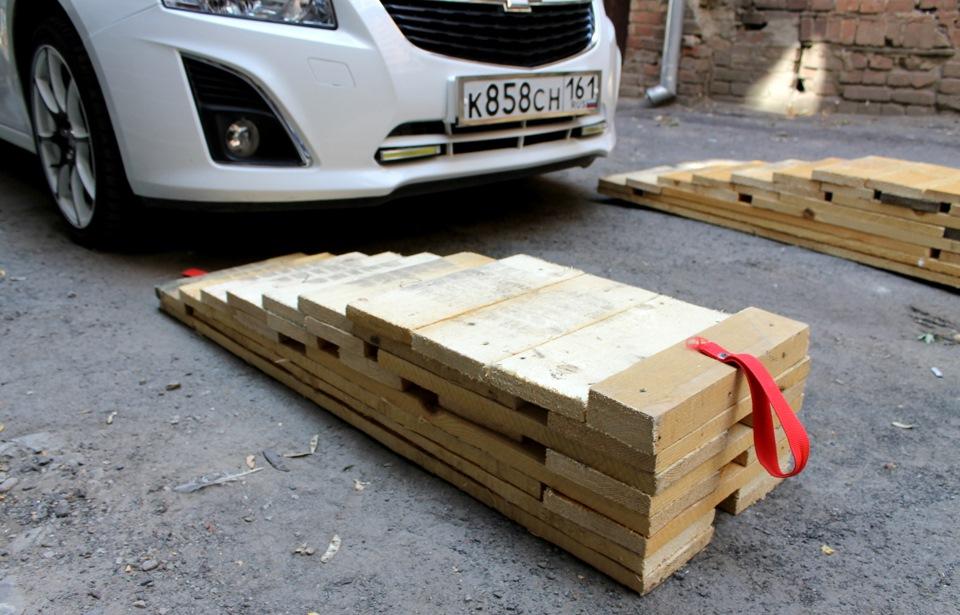 Рампы для автомобилей своими руками - Selivanov shina