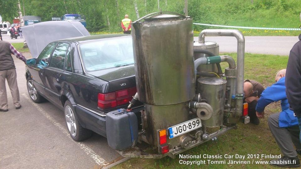 Есть ли будущее у газогенераторных (авто работающих на дровах) автомобилей ? - DRIVE2