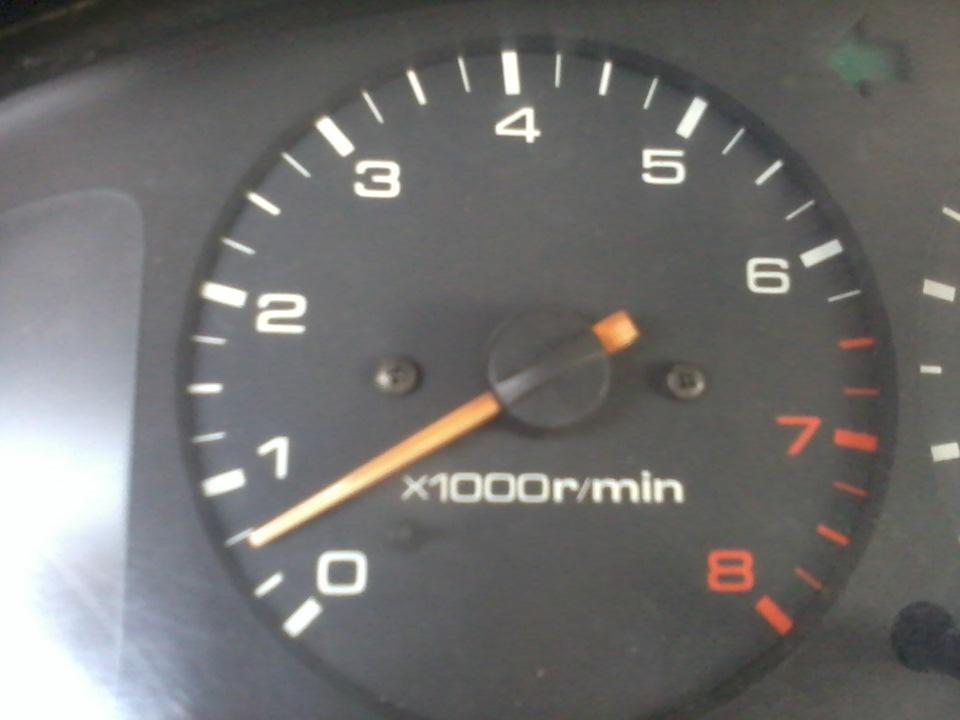 mazda 626 обороты двигателя