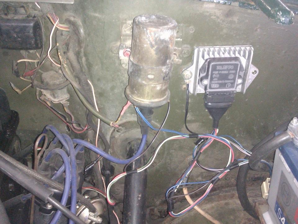 Электронное зажигание на уаз 469