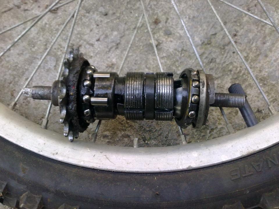 Ремонт переключателя скоростей велосипеда своими руками 5