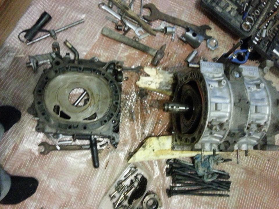 Ремонт своими руками роторного двигателя rx 8