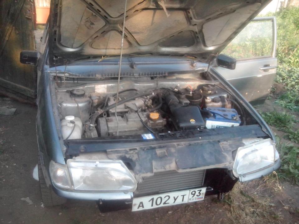 Ваз 2115 ремонт бампера