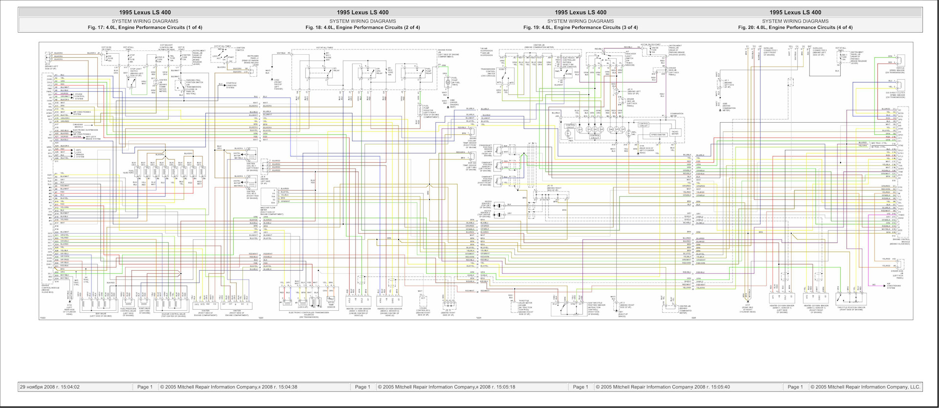 1uz Fe Non Vvt I 1994 1996 Uz 1uzfe Engine Diagram