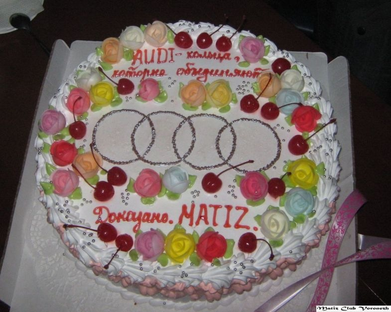 Поздравления с днём рождения ауди