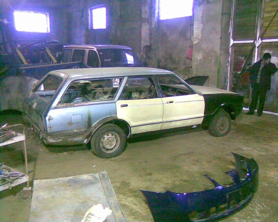 ford taunus 80 turnier реставрация