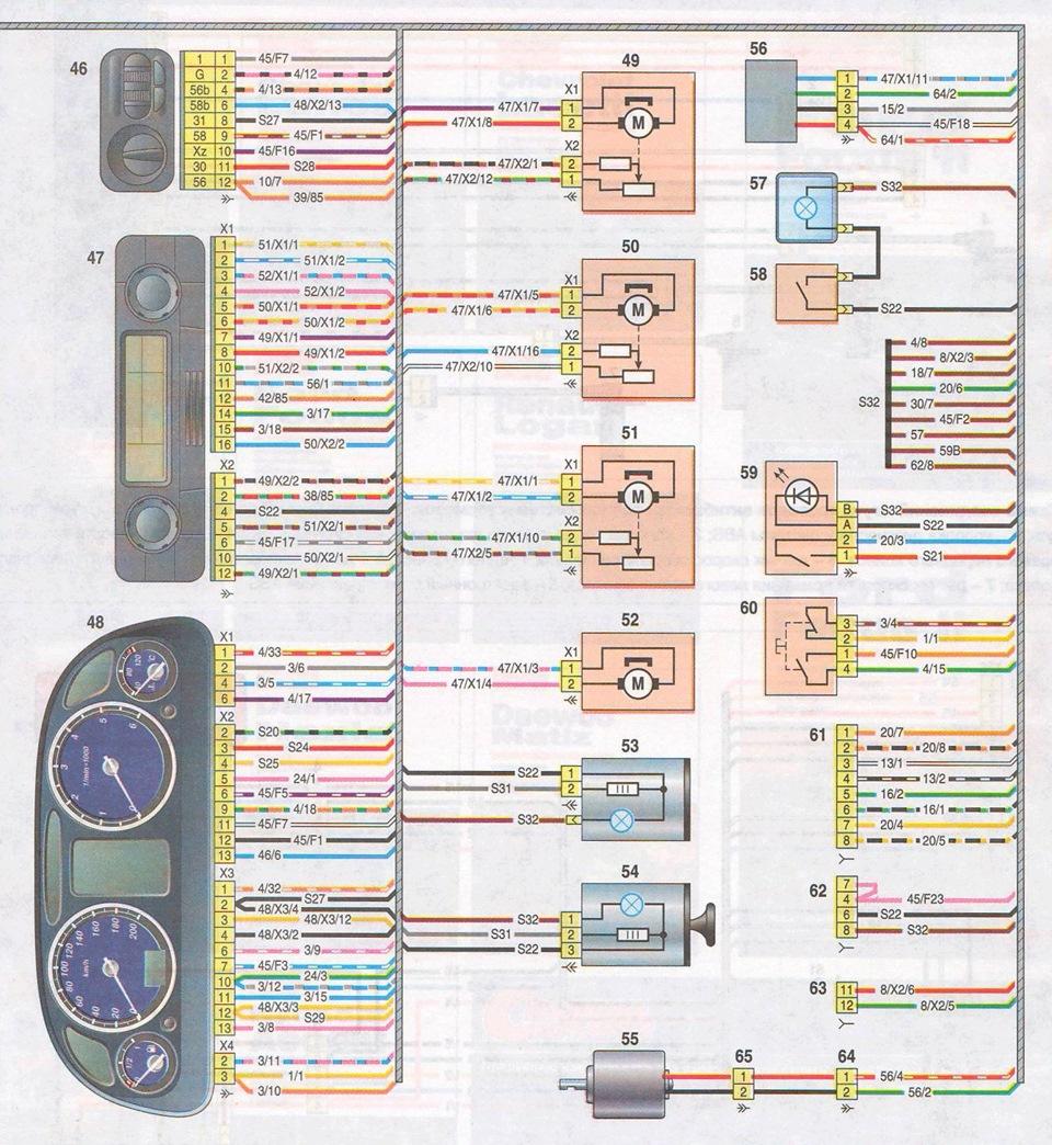 Схема подключения датчика скорости на газели бизнес