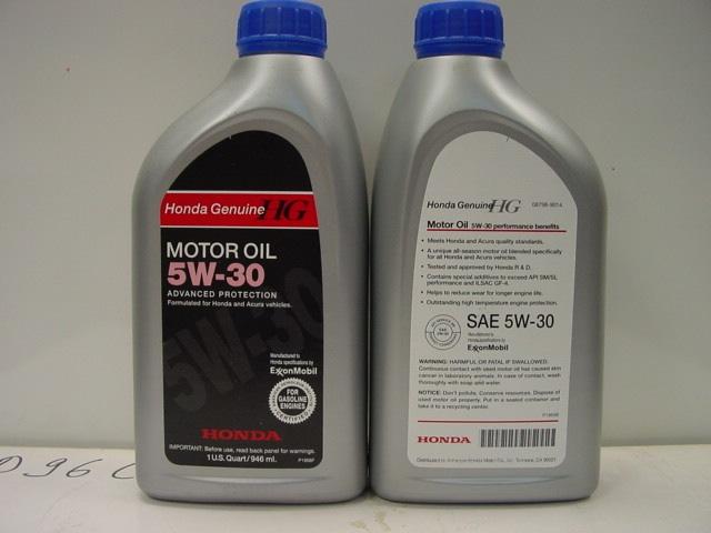 Какой масло двигателя залить хонда аккорд