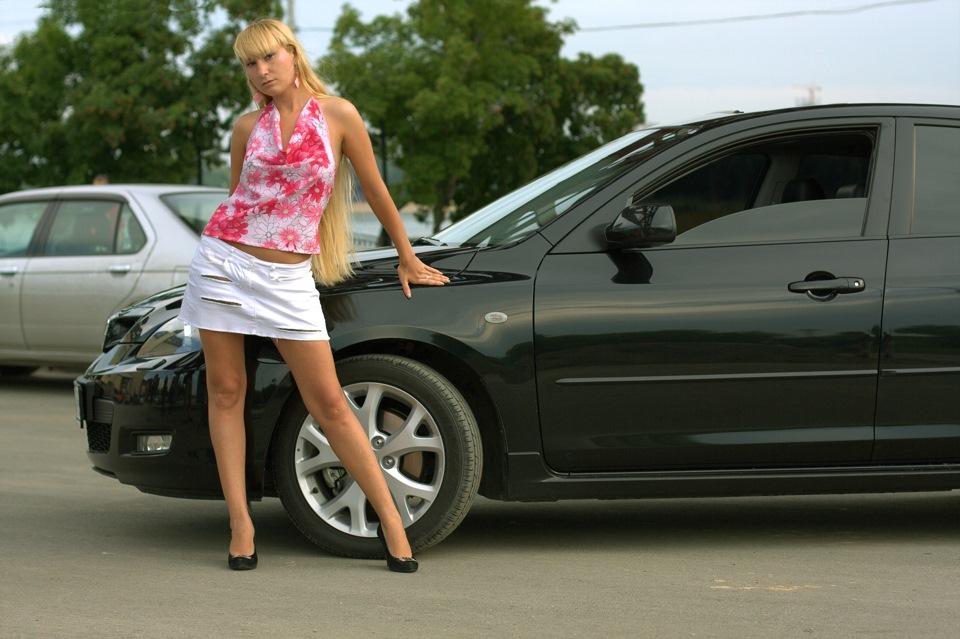 девушка модель работа машина