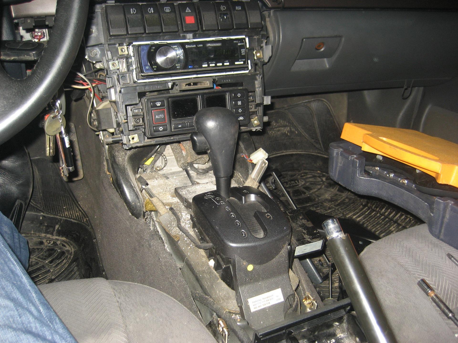 замена радиатора печки audi a4 1996