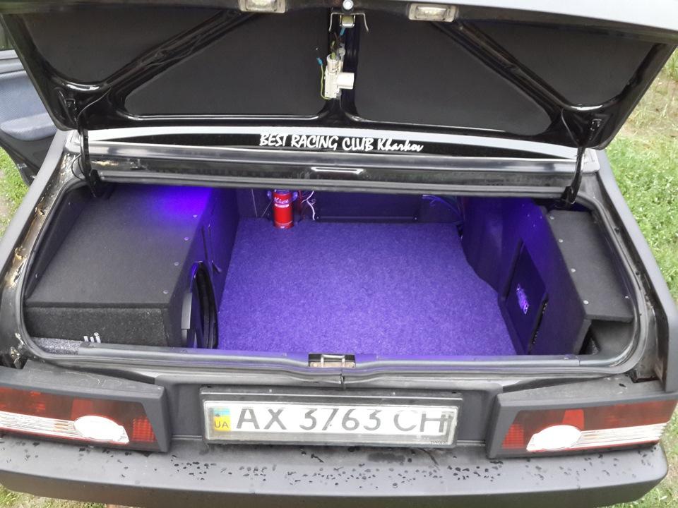 Багажник ваз 21099 своими руками 43