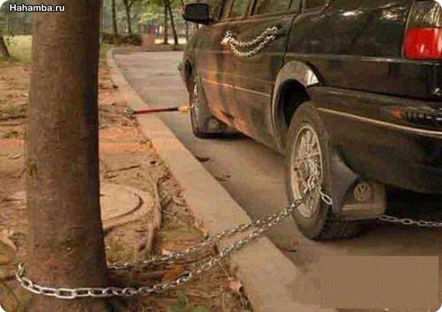 Как защитить машину от угона своими руками