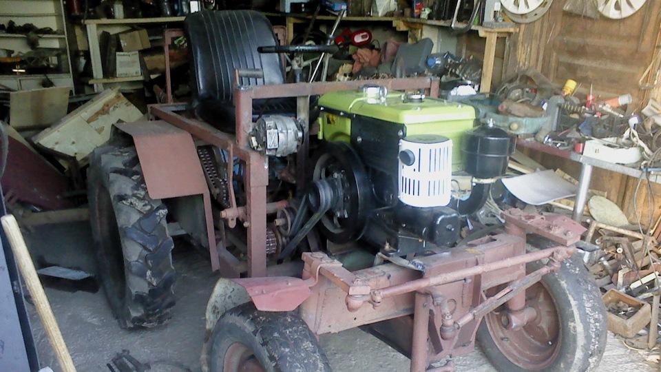 объектив видеокамеры самодельные трактора с двигателями ямз фото дом