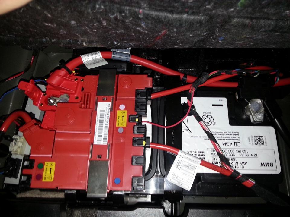 зарядка акб bmw x3 f25
