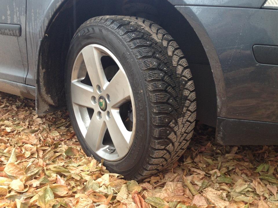 Замена колёс на автомобиле на зиму своими