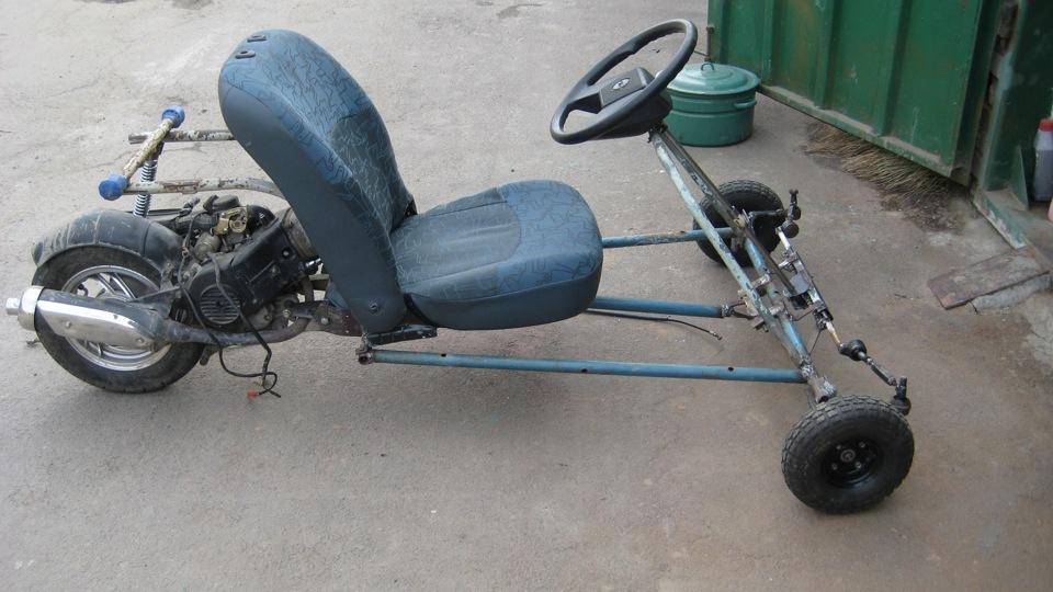 Как сделать самодельный скутер