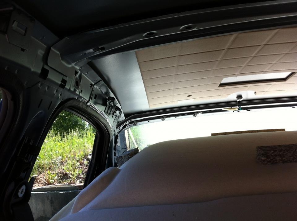 volkswagen polo sedan обшивка крыши