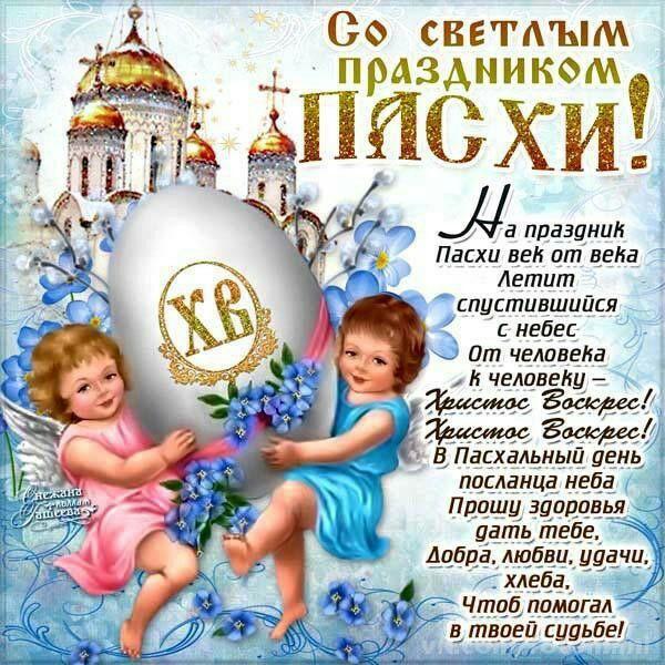 Короткие поздравления христос воскрес