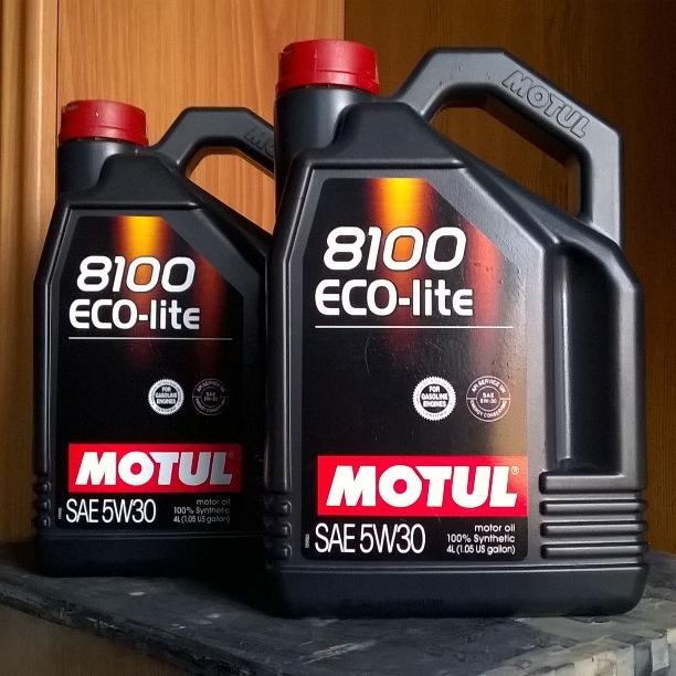 Моторное масло Motul 8100 Eco-lite 5W30 5л - фото 11