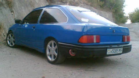 Ford Sierra Местами крашен))