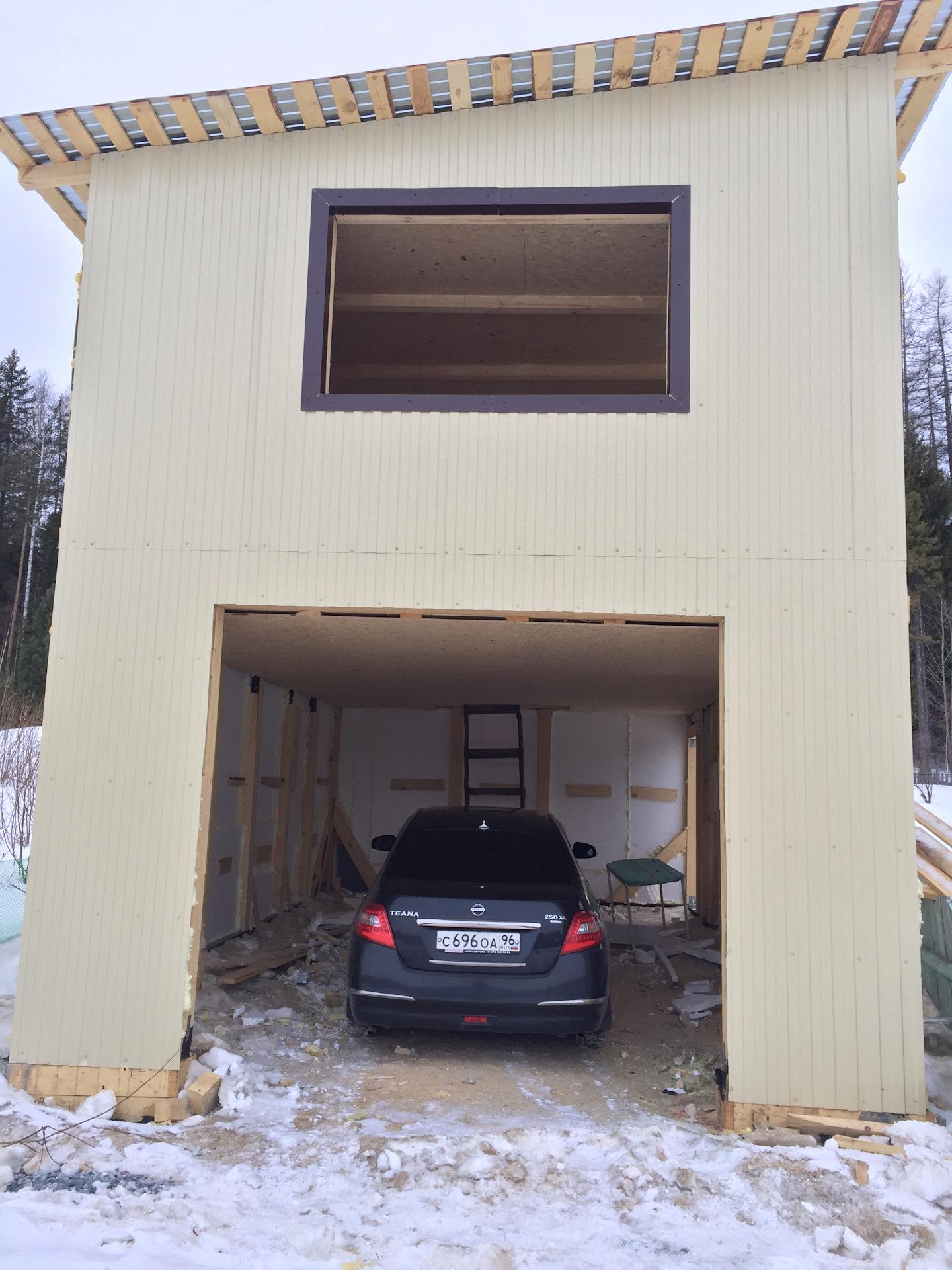 фото двухэтажных гаражей из нутри снимал снимал, все