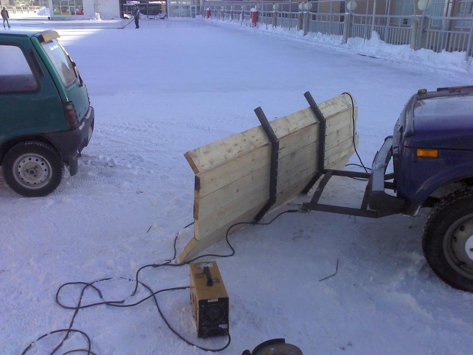 Как сделать лопату для снега для нивы - Justinox.ru