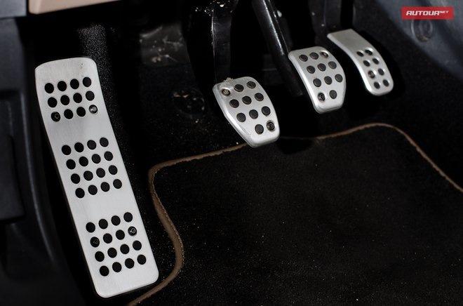 Алюминиевые накладки на педали — Citroen C4, 1.6 л., 2012 года