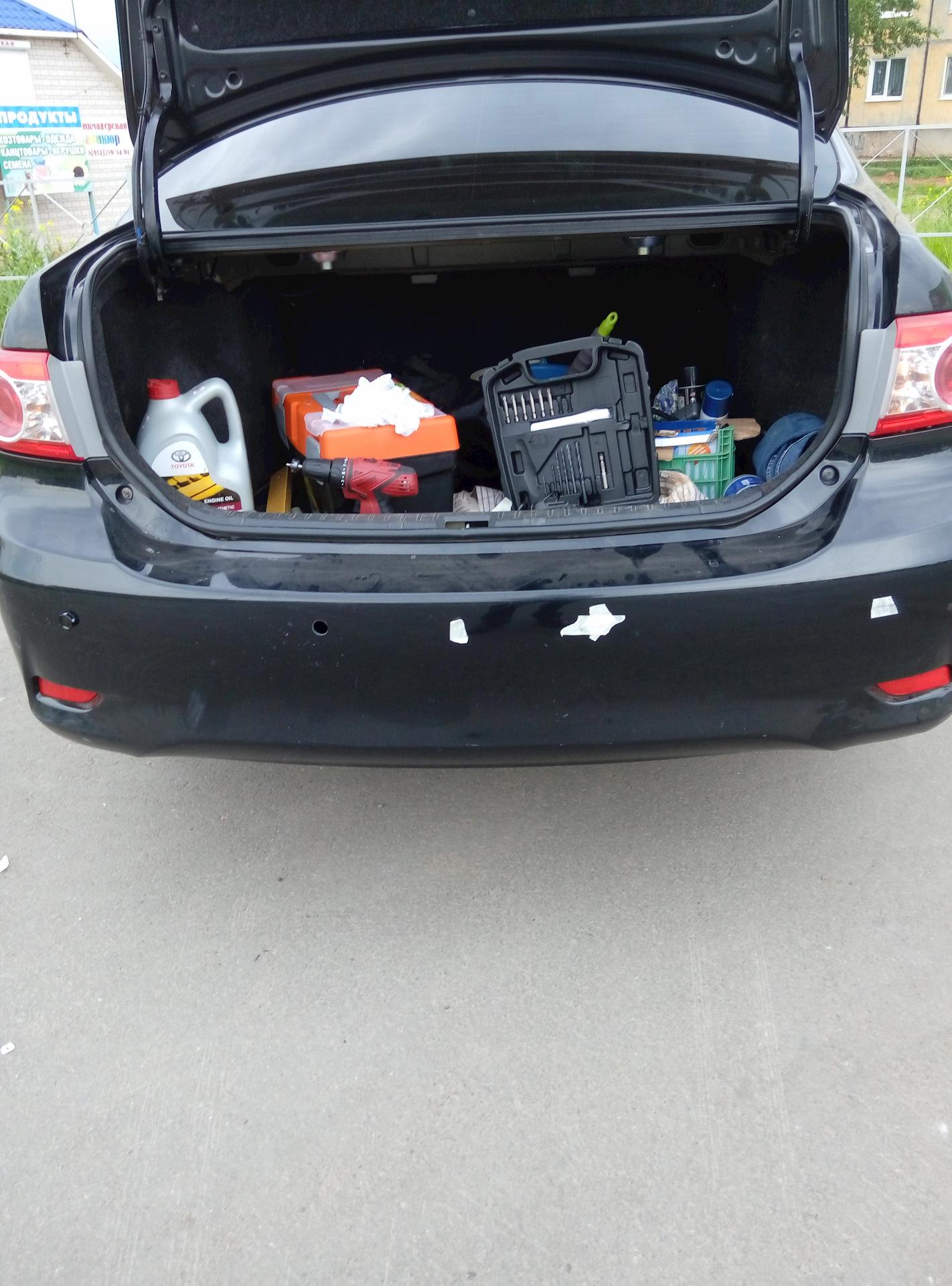 парктроник для toyota corolla