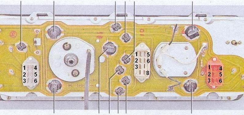 панель от Ваз 2107.