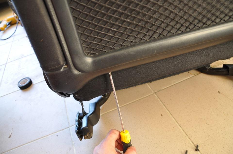 как работает подогрев седений в audi a6c5