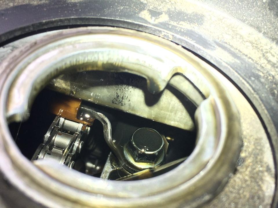 Замена натяжителя цепи паджеро спорт 2 Замена сальника привода rx300