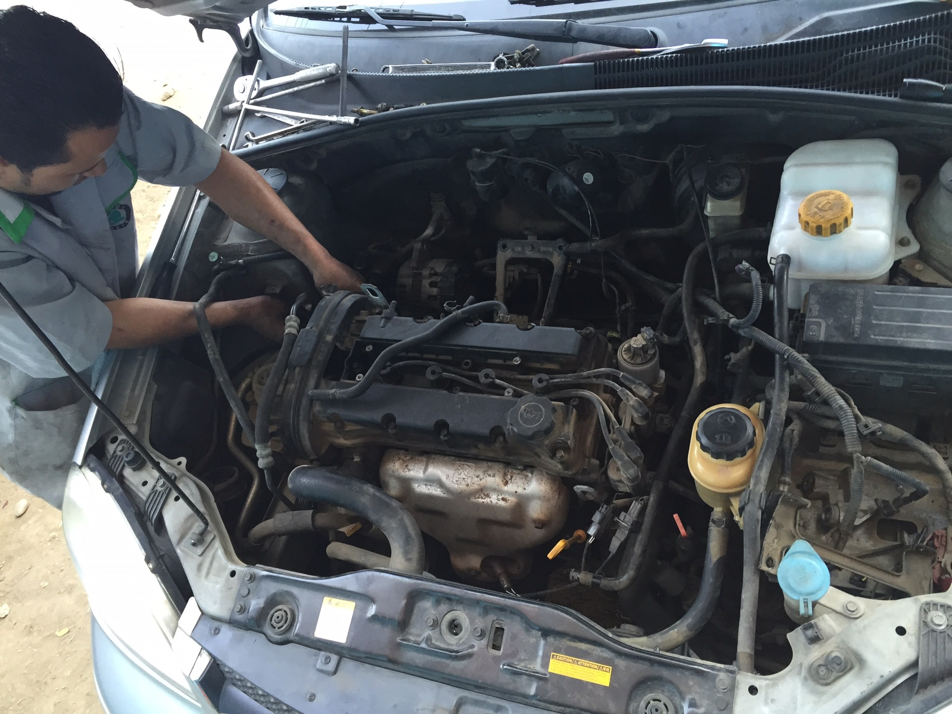 Change Nozzle Heater and make some cleaning — logbook Daewoo tti