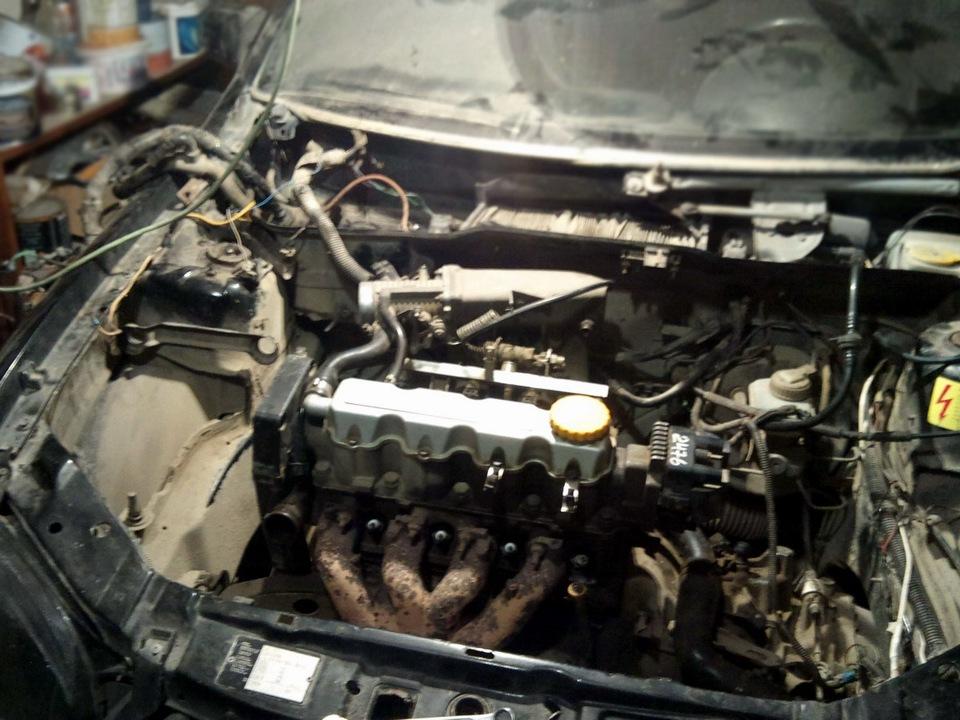 Открутили со старого двигателя